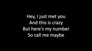 Timeflies - Call Me Maybe Lyrics