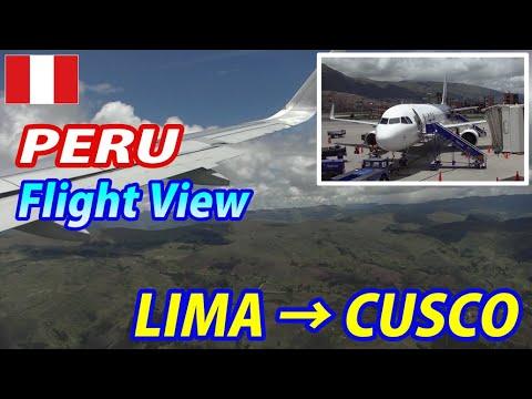 PERU LAN Airlines LIMA → CUSCO