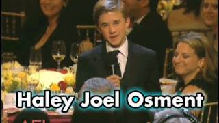 Haley Joel Osment On Being Tom Hanks