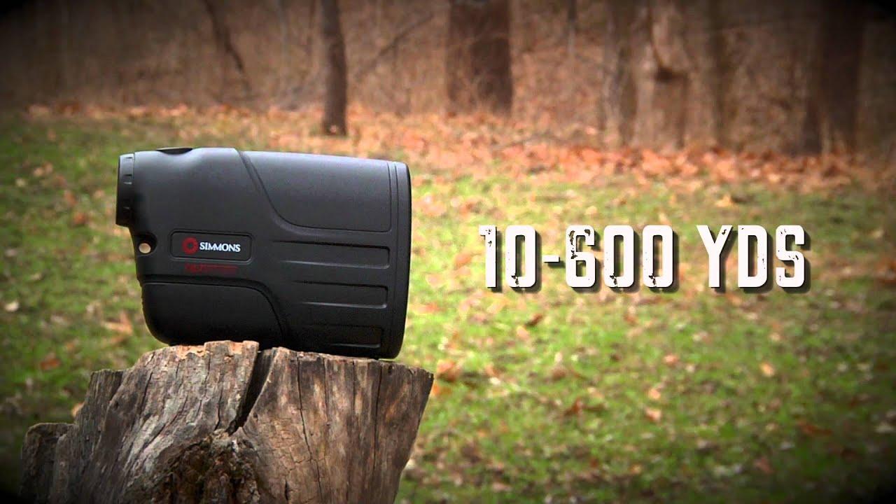 simmons volt 600 rangefinder. simmons lrf 600 with tilt intelligence volt rangefinder r