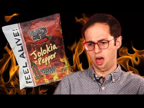 Thumbnail: Extremely Spicy Snack Taste Test