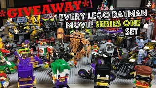 All 25 LEGO Batman Movie Sets Series 1 Collection  ***HUGE GIVE AWAY***