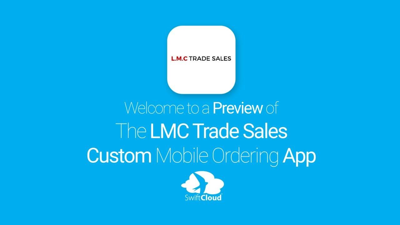 60e336817910ca L M C Trade Sales - Mobile App Preview - LMC9457W - YouTube