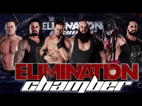 WWE Elimination Chamber 2018 Match Prediction with 2K18 Gameplay