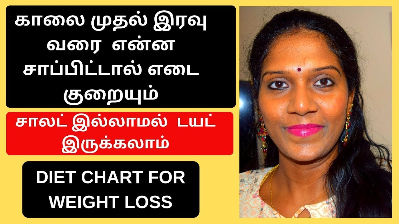 தமிழ் l Weight Loss Diet Plan in Tamil l  Diet Chart For Weight Loss l Weight Loss Motivation