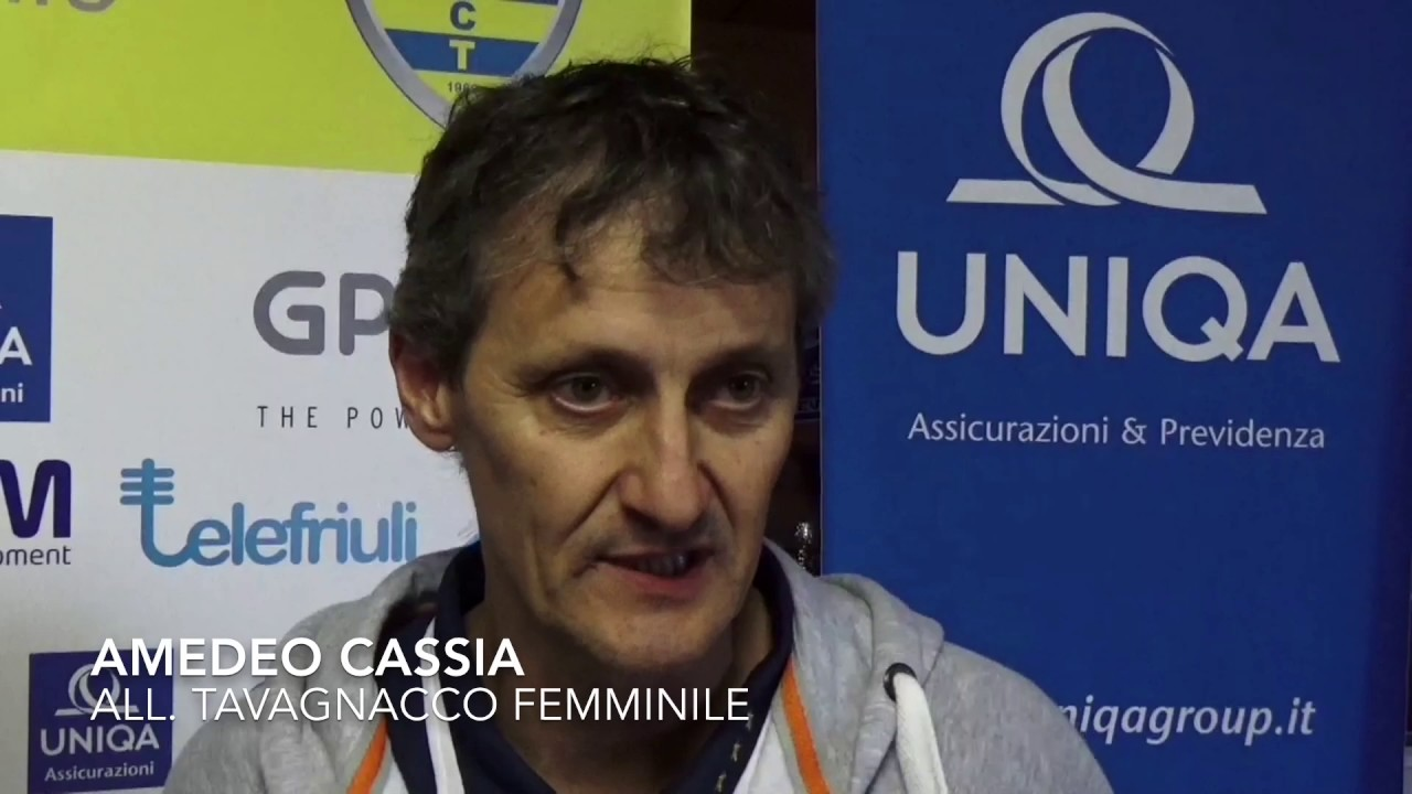 Amedeo Cassia post Tavagnacco vs Como 5-2