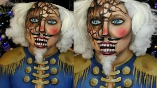 Wooden Nutcracker Makeup Tutorial Jordan Hanz