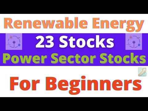 🔴 Renewable Energy Stocks | Power Sector Stocks | Smart Energy Shares India