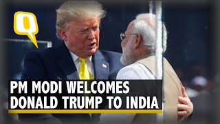 Namaste Trump Live: US President Donald Trump Arrives in India