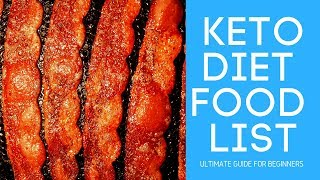 Ultimate List of Keto Diet Approved Foods