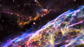 Veil Nebula Is Mesmerizing Through Hubble