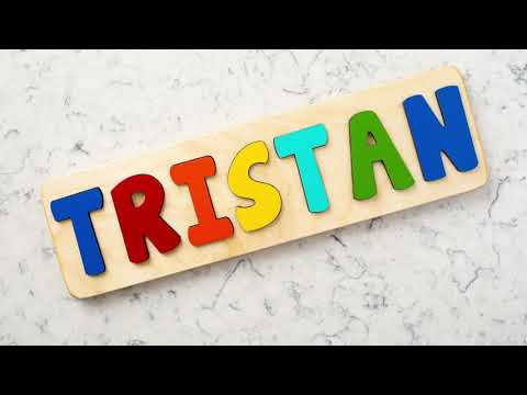 Personalized Wooden Name Puzzle from Page Brook Market