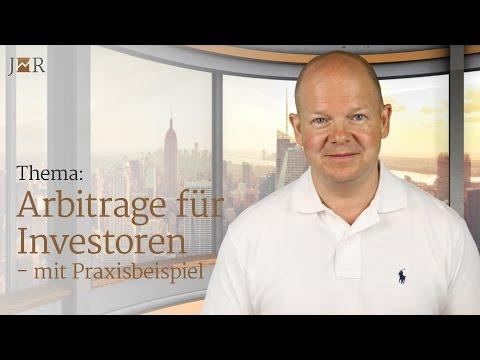 Arbitrage für Investoren - mit Praxisbeispiel