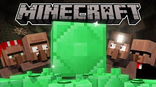 Why Emeralds Are Rare - Minecraft