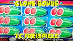 Clone Bonus FREISPIELE auf 1€ Einsatz - Merkur Spielothek HD