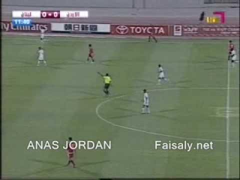Jordan 3-0 Lebanon West Asia Cup 2007 Full Match 1-2