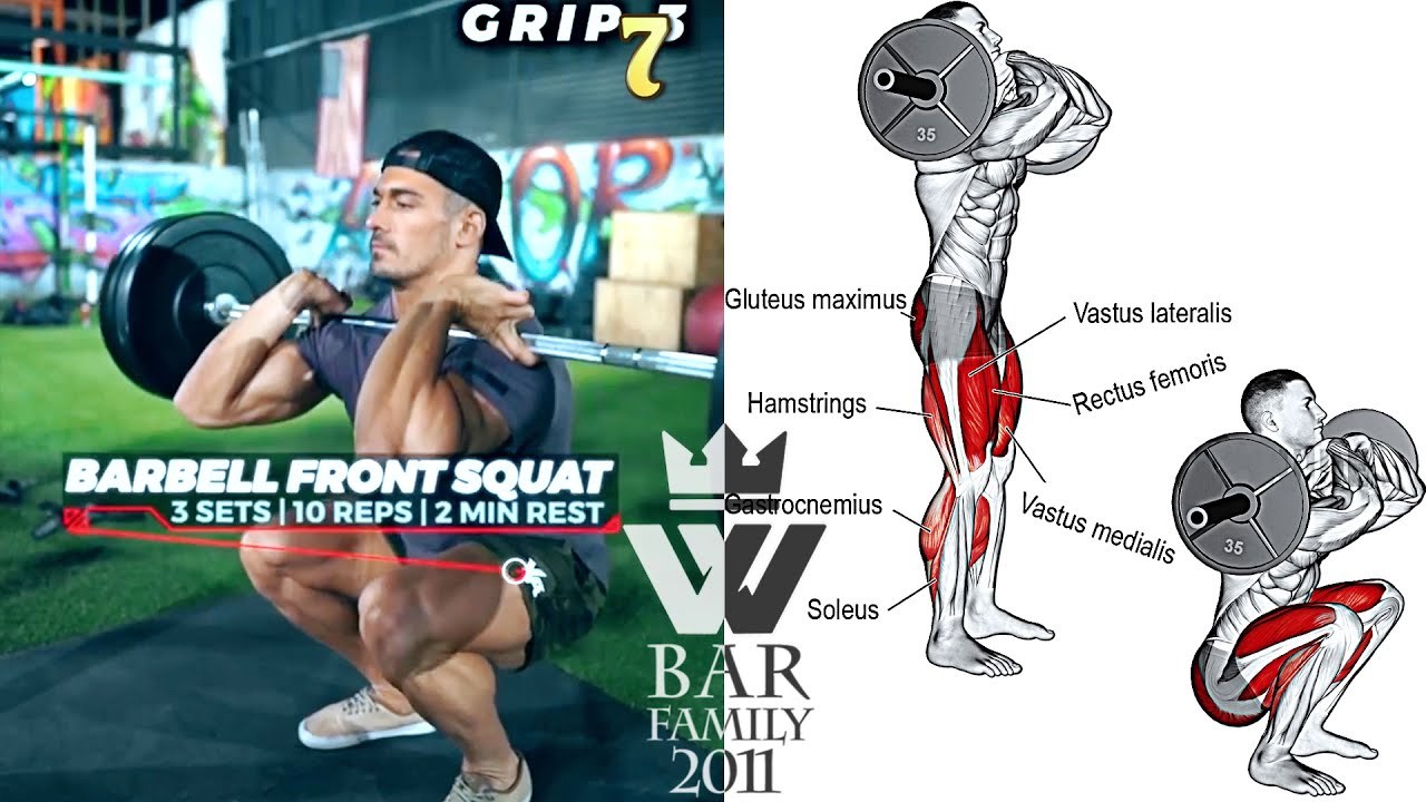 The BEST EXERCISES for your LEGS (HOW TO SQUAT)