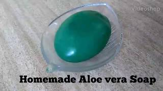 DIY | Bathing Soap | Homemade Aloe Vera Soap | A Natural Moisturiser | DIY Organic Soap | NON-TOXIC