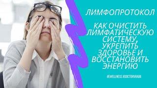 постер к видео Лимфопротокол: система очистки лимфы