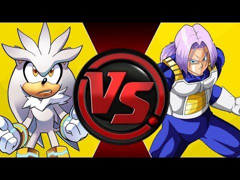 SILVER vs TRUNKS! (Sonic the Hedgehog vs Dragon Ball Z) | Cartoon Fight Night