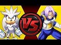 SILVER vs TRUNKS! (Sonic the Hedgehog vs Dragon Ball Z) | Cartoon Fight Night