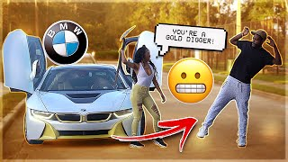 GOLD DIGGER PRANK IN THE HOOD **GONE WRONG**