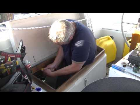 Life is Like Sailing - Installing a New Hot Water Tank!