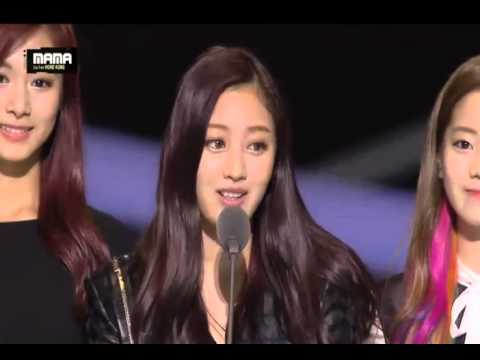 TWICE - MAMA 2015 Best New Female Artist