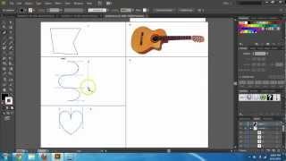 Adobe Illustrator CS6 Basics - Pen Tool Tutorial