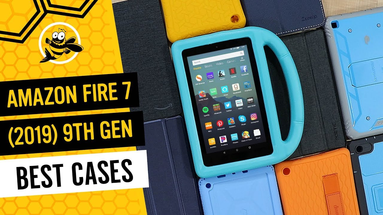 Best Cases For New Amazon Fire 7 2019 9th Generation Youtube