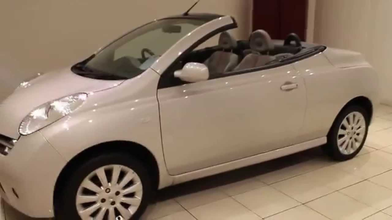 Used nissan micra 1 6 active luxury cc 2dr 109 bhp youtube for Nissan micra cc