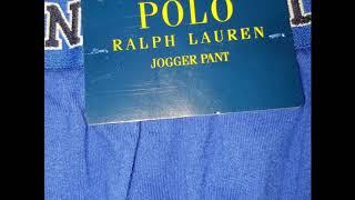 Wholesale Polo Ralph Lauren Blue Jogger Pants By Closeoutexplosion.com