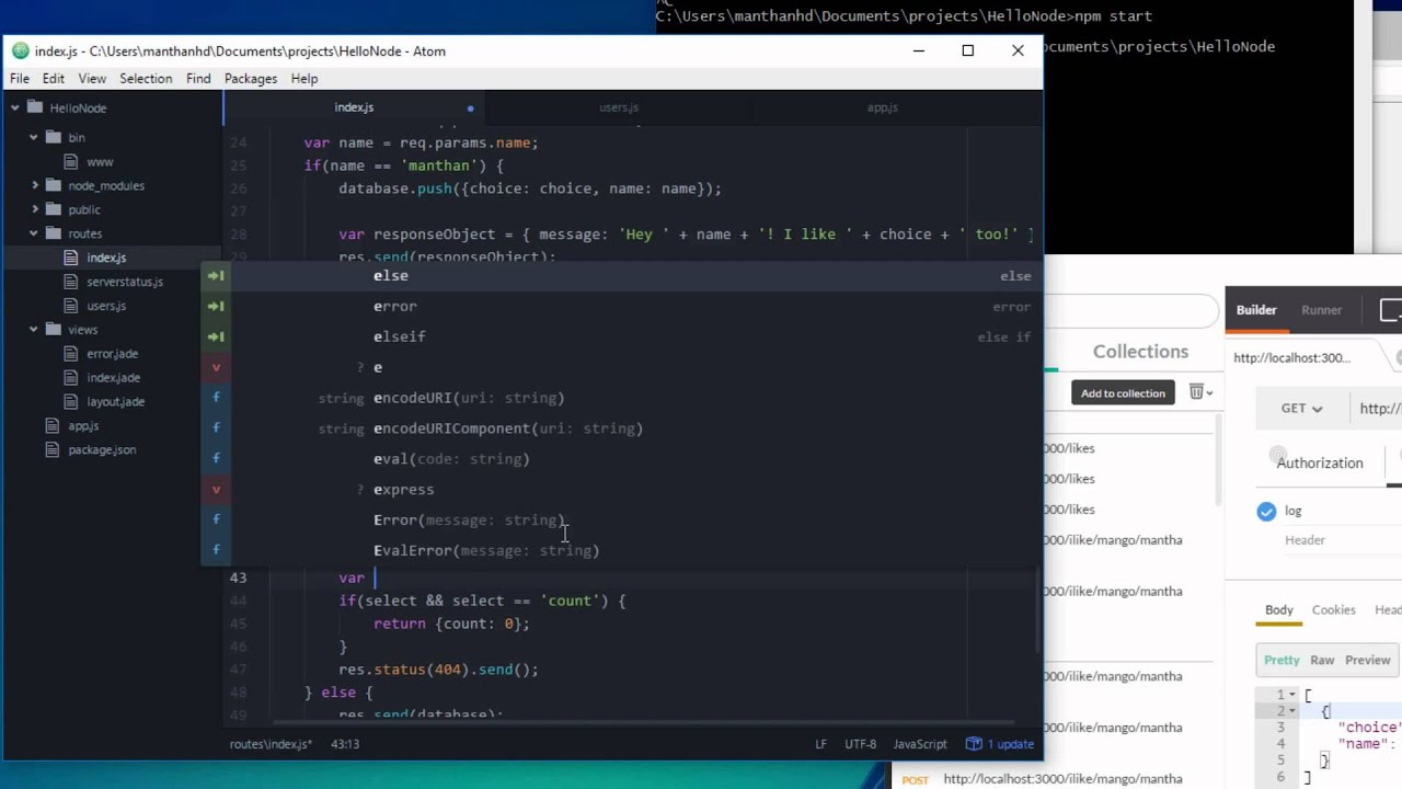 Working with Query Strings in Express - Node js Tutorial 9