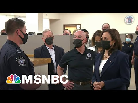 Harris Visits Border Amid Criticism From Immigration Advocates