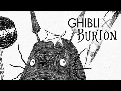 GHIBLI X BURTON - Totoro