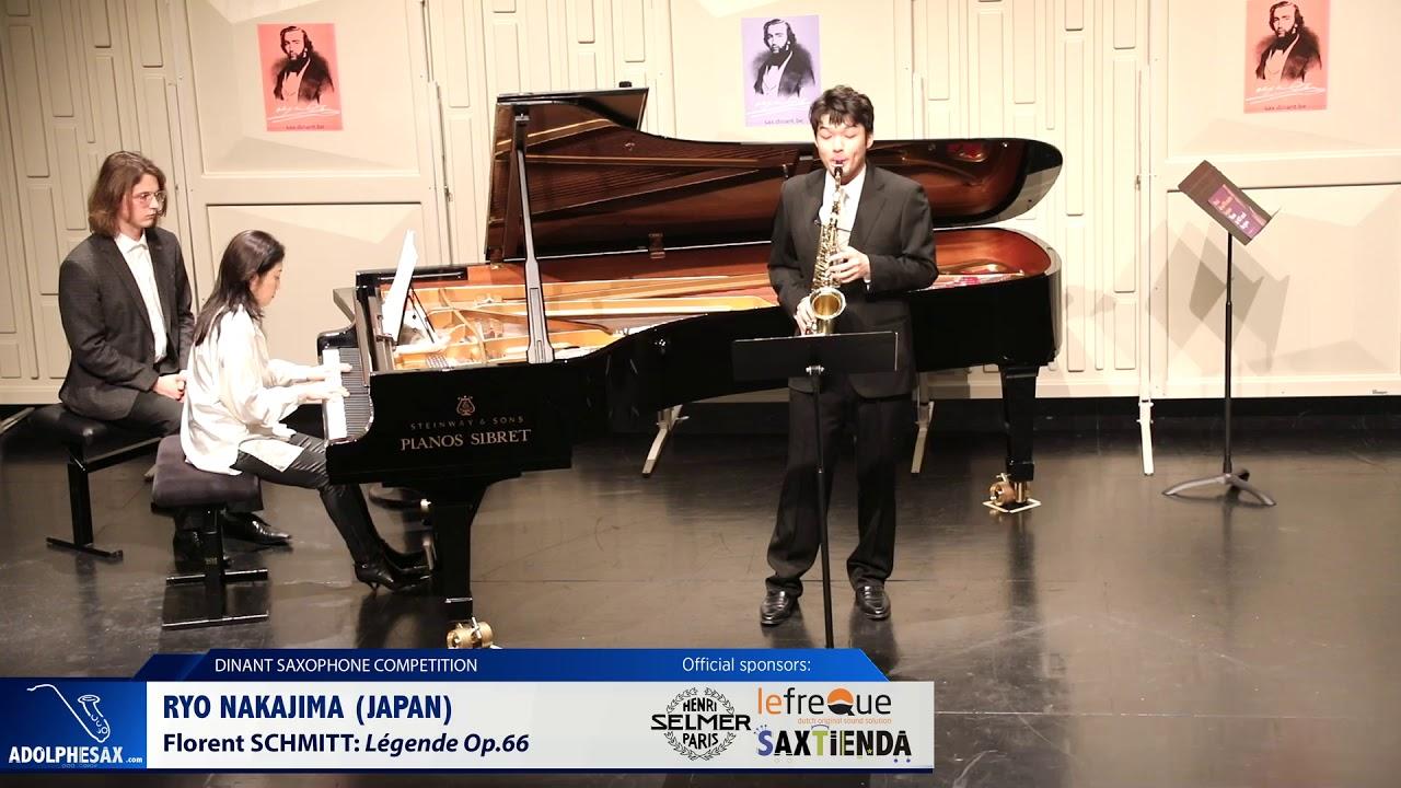 Ryo Nakajima (Japan) - Legende Op 66 by Florent Schmitt (Dinant 2019)