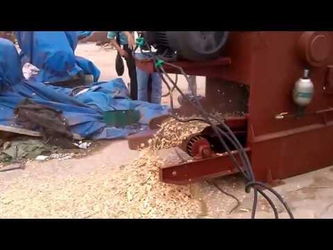 wood chipper working video - ZHANGQIU YULONG MACHINE CO.,LTD