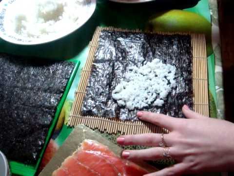 Как я готовлю роллы дома
