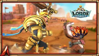 Dragon Arena! Our Toughest One Yet! Enter Transporters! Lords Mobile