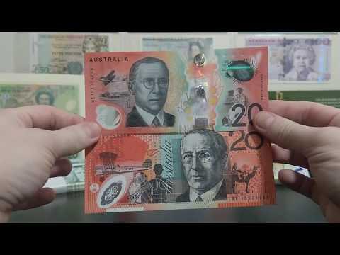 New Australian 20 AUD Note