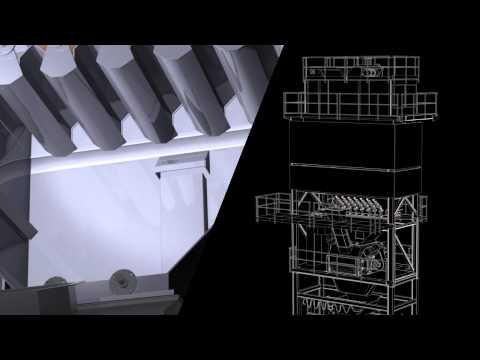 Batch mixing process (en) - Asphalt mixing plant Uniglobe - Ammann Group