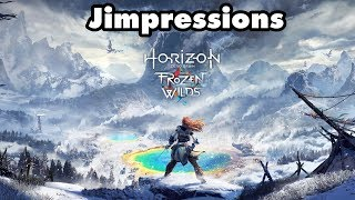 Horizon Zero Dawn: The Frozen Wilds - The Cold & The Brave (Jimpressions) (Video Game Video Review)