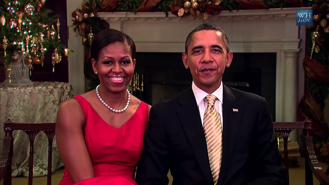 Merry Christmas From The Obamas (2011) - YouTube