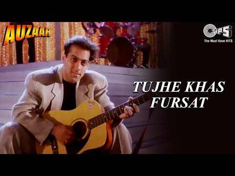 Tujhe Khas Fursat - Video Song | Auzaar | Salman Khan, Sanjay Kapoor | Anu Malik