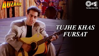 Tujhe Khas Fursat | Salman Khan | Shilpa Shetty | Sanjay Kapoor | Auzaar Movie | 90's Hindi Songs