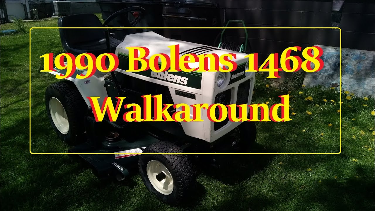 Bolens 1468 Walkaround