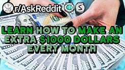 Redditors Share How To Make $1000 On The Side (Reddit Stories r/AskReddit)