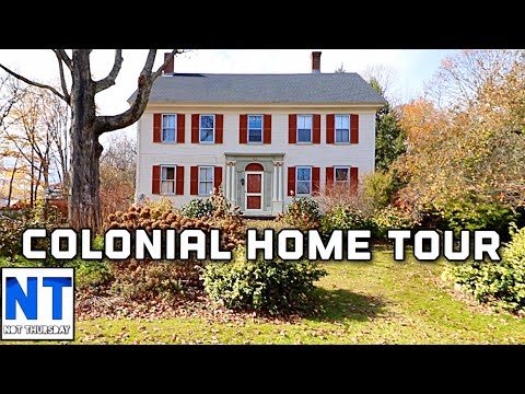 Mega Tour Of A Colonial New Hampshire Home & Its History