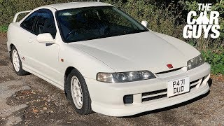 NEW CAR! Honda Integra Type R collection day