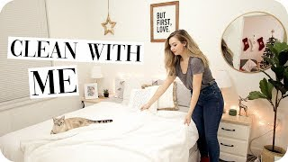 Clean with Me + Winter Bedroom Makeover!
